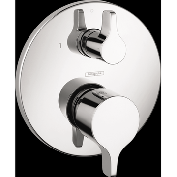 Hansgrohe Ecostat Pressure Balance Trim S/E with Diverter in Chrome
