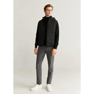 MANGO MAN - Ultra-light quilted gilet black - XL - Men