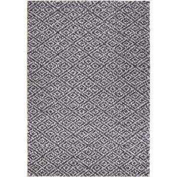 Orian Rugs Angora Mini Diamonds 5 x 8 Taupe Indoor Geometric Farmhouse/Cottage Area Rug Polyester in Gray