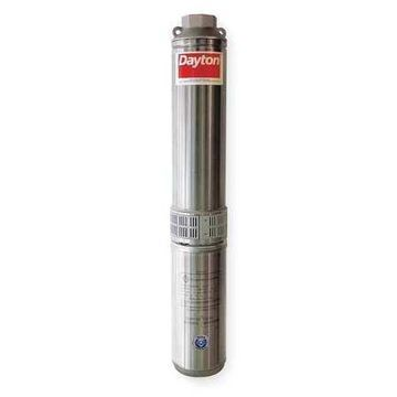 DAYTON 1LZY2 Pump,Deep Well,2 Wire,7GPM,3/4HP,230V