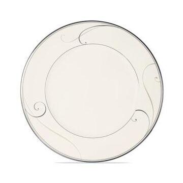 Noritake Dinnerware, Platinum Wave Dinner Plate