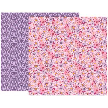 """Paige Evans Wonders Paper 7 Double-Sided 12"""" x 12""""Cardstock, 25 Sheets By American Crafts 