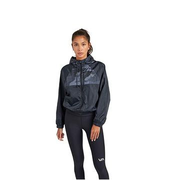 RVCA Rise Up Jacket (Camo) Women's Clothing