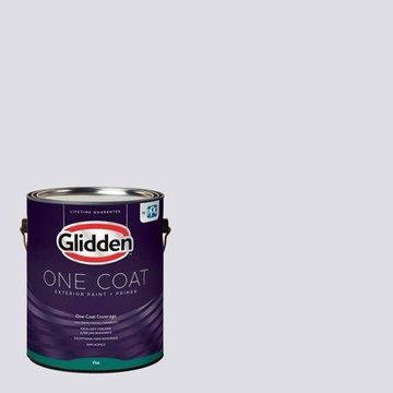 Violet Echo, Glidden One Coat, Exterior Paint and Primer