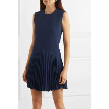 Dion Lee Navy Sleeveless Short Dress 0