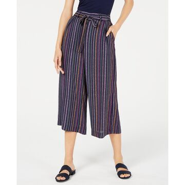 Textured Wide-Leg Culottes, Created For Macy's
