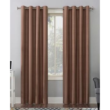 """Sun Zero Duran Thermal Insulated Blackout Grommet Curtain Panel, 108"""" L x 50"""" W"""