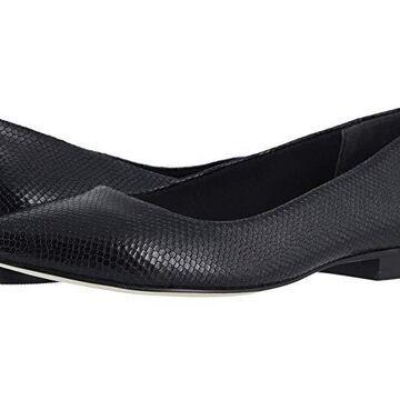 Walking Cradles Reece (Black Snakeskin Leather) Women's Shoes