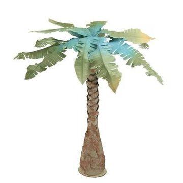 Northlight 2.5 Unlit Artificial Summertime Tropical Beach Coconut Tree