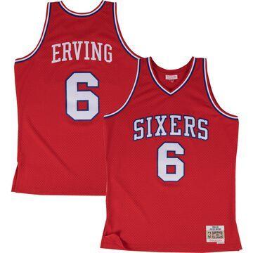 Mitchell & Ness Men's Philadelphia 76ers Julius Erving #6 Swingman Jersey