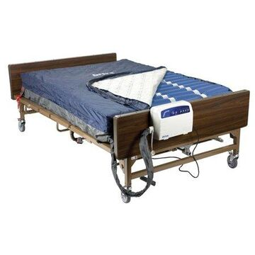 Drive Medical Med Aire Plus Bariatric Heavy Duty Low Air Loss Mattress Replacement System