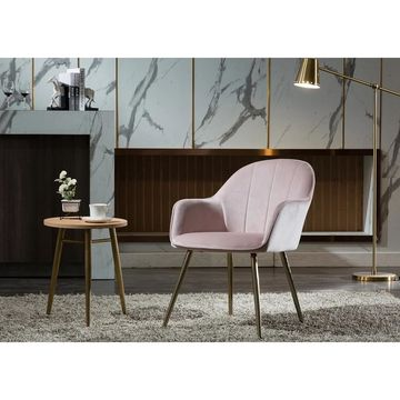 Porthos Home Yari Dining Room Chairs, Velvet Upholstery, Chrome Legs