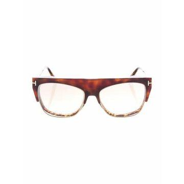 Cat-Eye Eyeglasses Brown