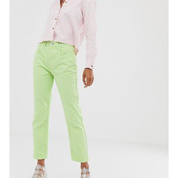 Reclaimed Vintage The '91 mom jean in apple wash-Green