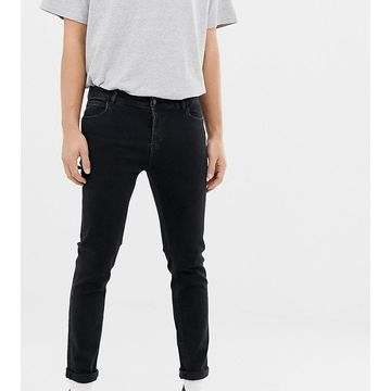 Reclaimed Vintage The '90 skinny jeans in washed black