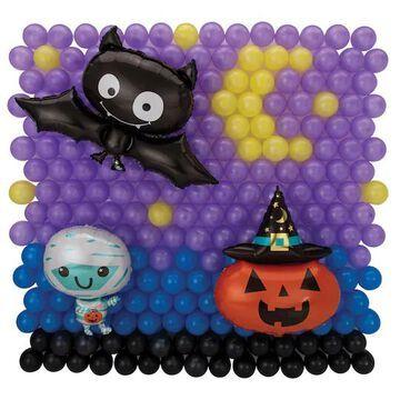 Halloween Latex & Foil Balloon Backdrop Kit By Amscan   Michaels