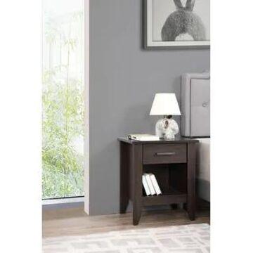 Lennox 3-drawer Wooden Nightstand (Wenge)