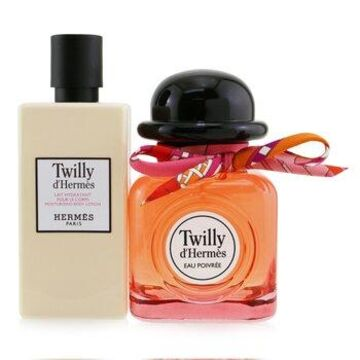 Hermes Twilly D'Hermes Eau Poivree Coffret: Eau De Parfum Spray 85ml/2.87oz + Moisturizing Body Lotion 80ml/2.7oz 2pcs