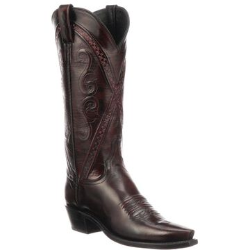 Lucchese Darlene Goat Leather Boots