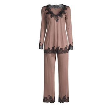 Josie Natori Charlize Two-Piece Pajama Set