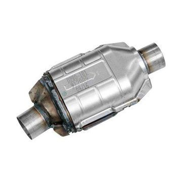 Flowmaster Universal OBDII Catalytic Converter SS - 2.25in. In/Out 14in. Length