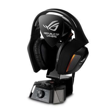 ASUS ROG Centurion True 7.1 Surround Sound Gaming Headset for PC with USB Control Box