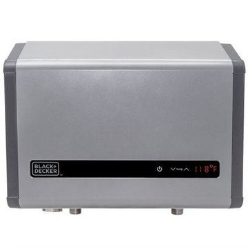 BLACK+DECKER 27 kW Self-Modulating 5.3 GPM Electric Tankless Water Heater, Multi-Application hot water heater electric