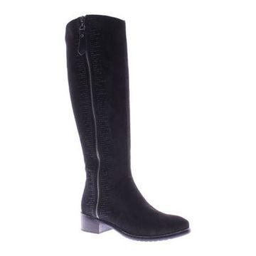 Azura Women's Blackenbury Boot Black Micro Suede