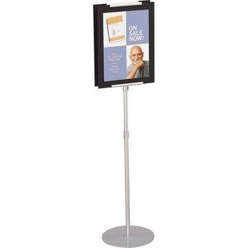Quartet, QRT7923, Adjustable Sign Stand, 1 Each, Silver
