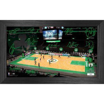 Boston Celtics Highland Mint 12'' x 20'' Signature Court Photo