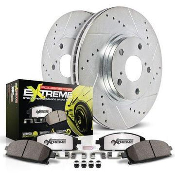 Power Stop Rear Z26 Street Warrior Brake Kit K1301-26