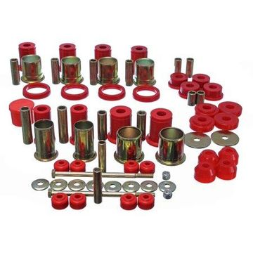 Energy Suspension 89-92 Chevrolet Camaro Red Hyper-flex Master Bushing Set