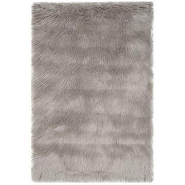 Safavieh Faux Sheep Skin Gray 2' X 3' Area Rug
