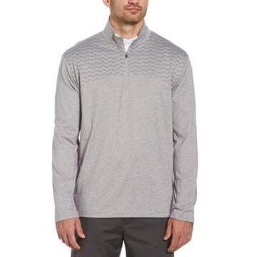 Pga Tour Men's Wrinkle-Resistant Quarter-Zip Jacket