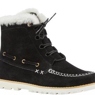 Lamo Suede and Sheepskin Boots - Meru