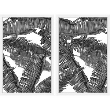 Marmont Hill - Handmade Tampa Diptych