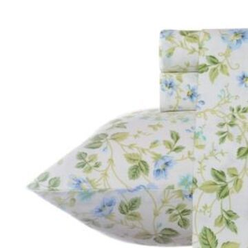 Laura Ashley Queen Spring Bloom Sheet Set Bedding