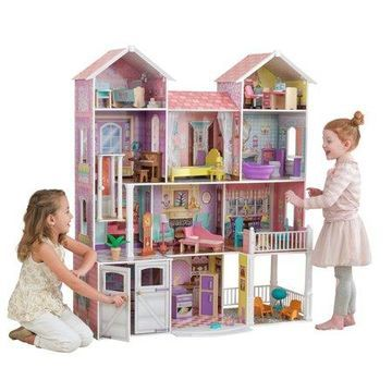 KidKraft Country Estate Dollhouse with 31 accessories included