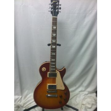 Used 2004 Les Paul Standard Premium Plus Solid Body Electric Guitar 2 Color Sunburst