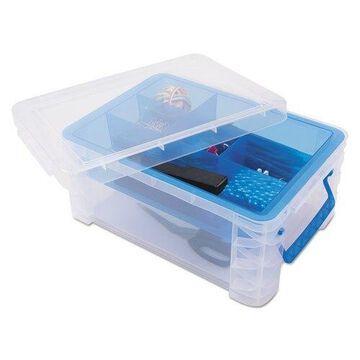 Advantus Super Stacker Divided Storage Box