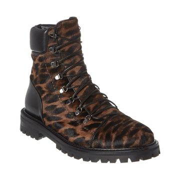 Alaia Haircalf & Leather Boot