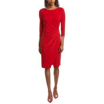 Taylor Womens Midi Dress