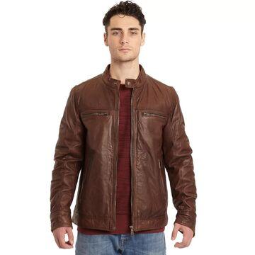 Men's Excelled Lamb Leather Moto Jacket