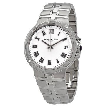 Raymond Weil Parsifal White Dial Men's Watch 5580-ST-00300