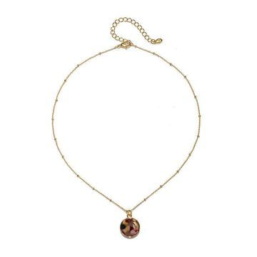 Mixit Resin 16 Inch Link Pendant