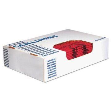 Heritage Healthcare Biohazard Printed Trash Bags, 8-10 gal, 1.3mil, 24 x 23, Red,500/CT,