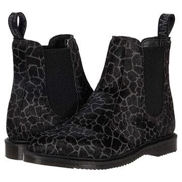 Dr. Martens Flora Giraffe Print Chelsea Boots Women's Shoes