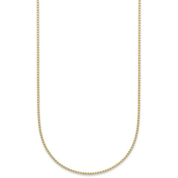 18K Gold over Sterling Silver Necklace, 30