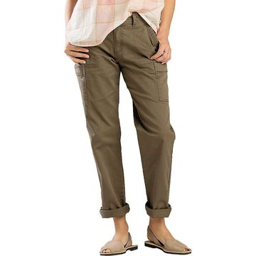 Toad & Co Women's Touchstone Camp Pant - 6 - Falcon Brown