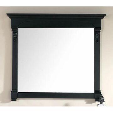 James Martin 147-114-5435 47.25 in. Brookfield Mirror, Antique Black